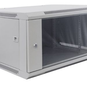 excel 600mm wall cabinet 6u