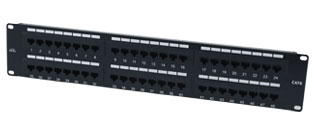 Excel Cat6 Patch Panel 48 Way
