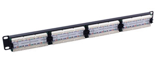 Excel Patch Panel 24 Way With IDC Krone Connection