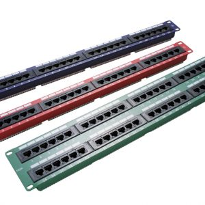Excel Patch Panels 24 Way Or 48 way There Are Many Colours To Choose From