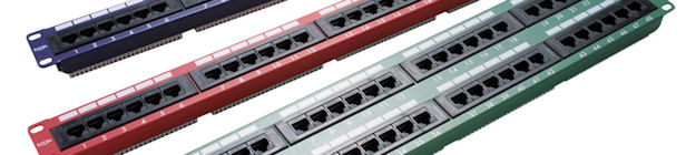 We Have cat5e Patch Panel's in various Colours